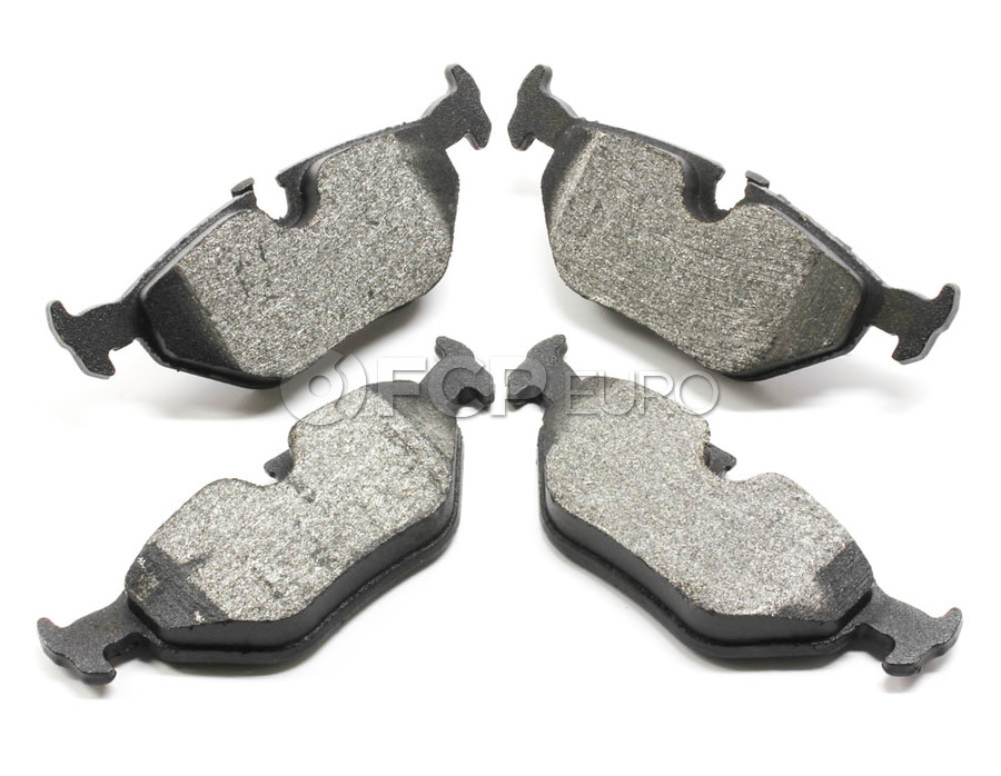 BMW Brake Pad Set - Bosch QuietCast BC763