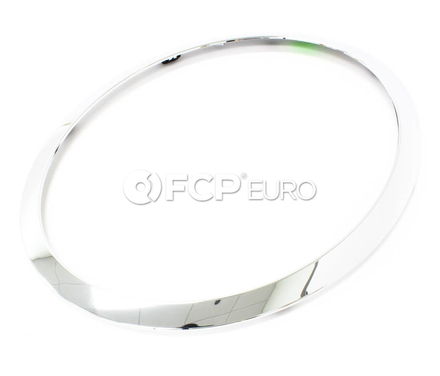 Mini Cooper Trim Ring Headlight Right (Chrom) - Genuine Mini 51137149906