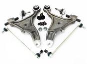 Volvo Control Arm Kit 6 Piece - Genuine Volvo KIT-P2S80CAKTP6