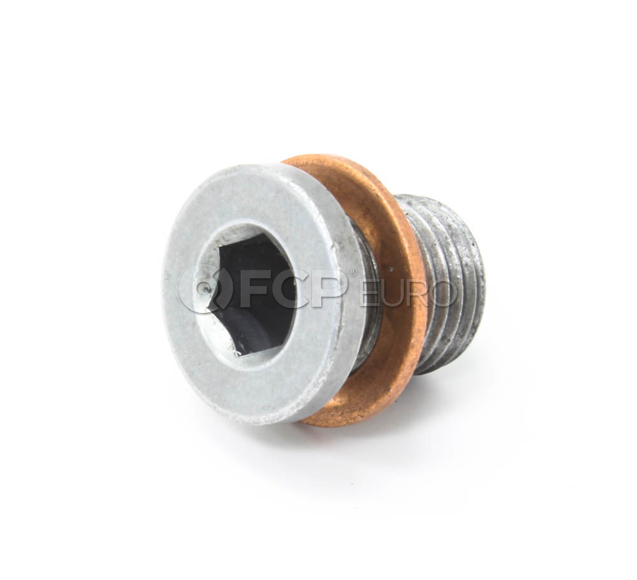 VW Oil Drain Plug - Genuine VW N91086801