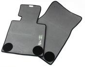 BMW Black Floor Mat Set - Genuine BMW 82110152598
