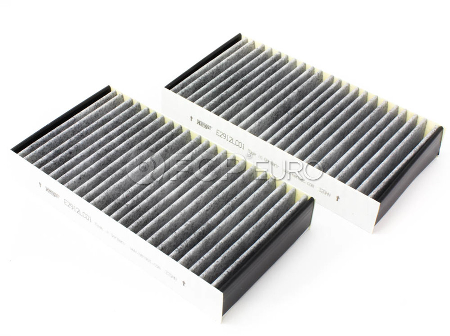 One New Hengst Cabin Air Filter E4932LC 2058350147 for Mercedes MB