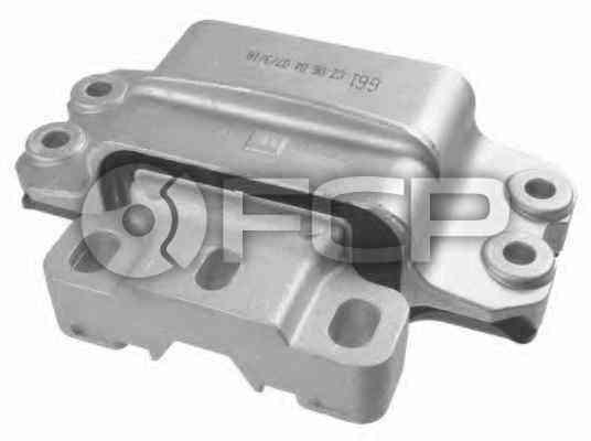 VW Transmission Mount - Lemforder 1K0199555M