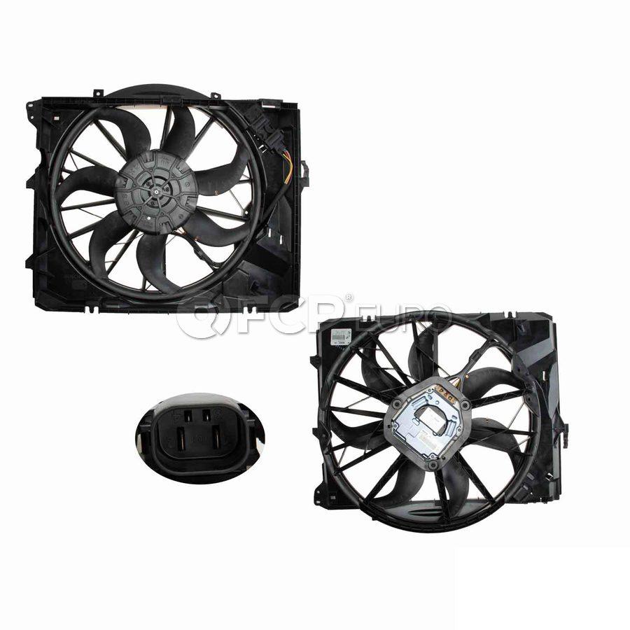 BMW Engine Cooling Fan Assembly - Genuine BMW 17427547305