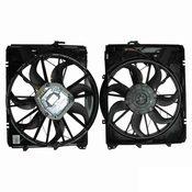 BMW Engine Cooling Fan Assembly - Genuine BMW 17427562080