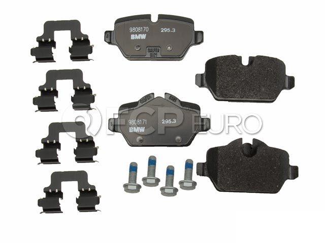 Mini Brake Pad Set - Genuine Mini 34219808172