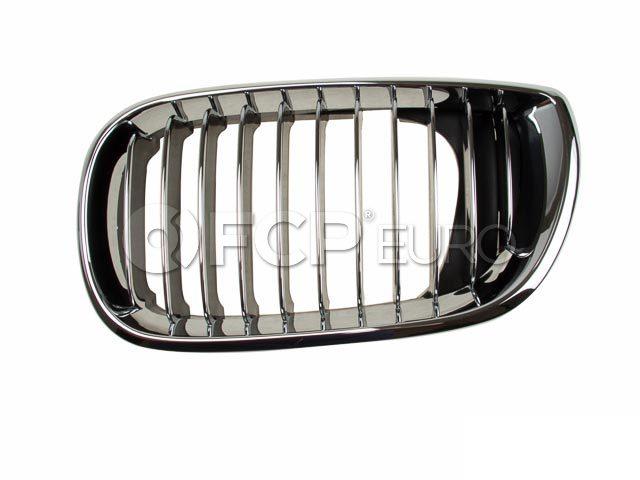 BMW Kidney Grille Left (325i 325xi 330i) - Genuine BMW 51137042961