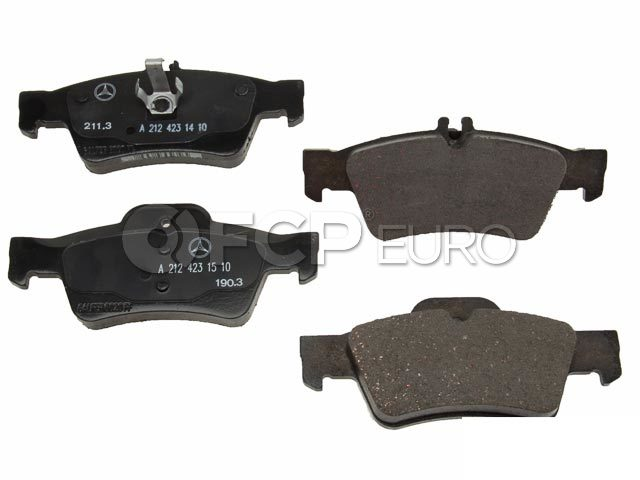 Mercedes Brake Pad Set - Genuine Mercedes 0074206820