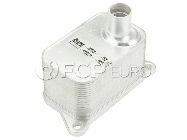 Audi VW Engine Oil Cooler - Nissens 06J117021J