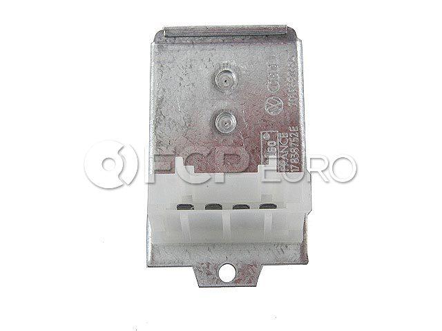 VW HVAC Blower Motor Resistor Front - Genuine VW Audi 701959263A