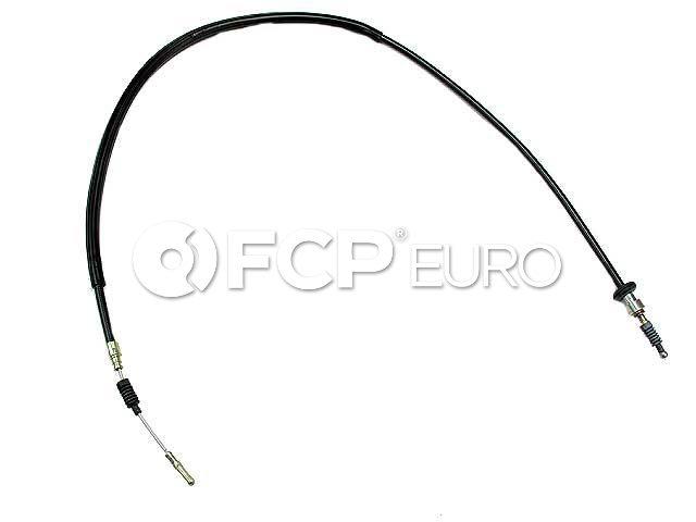 Audi Parking Brake Cable Left (80 Quattro 90 Quattro Coupe