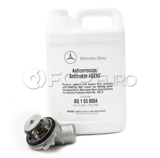 Mercedes-Benz Engine Coolant Thermostat Kit - Borg Warner M112113TK