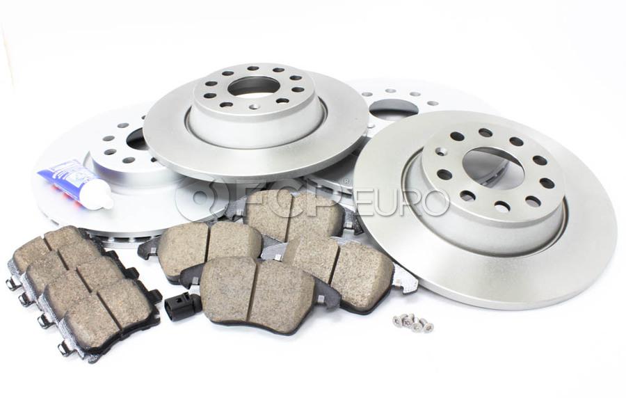 OE Replacement See Desc. 2006 VW Jetta Rotors Ceramic Pads F