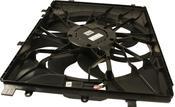 Mercedes Cooling Fan Assembly - Genuine Mercedes 2049066802