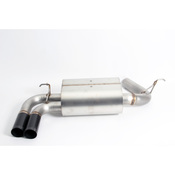 BMW Axle Back Exhaust With Black Tips (F30 F31 F32 F33) - Dinan D660-0046-BLK