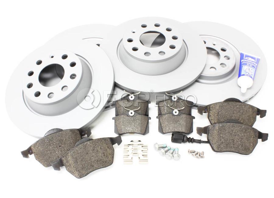 Audi Brake Kit - Zimmermann/Akebono TTBRAKEZIMM