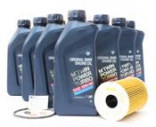 BMW Oil Change Kit 10W-60 - Genuine BMW 11427840594KT