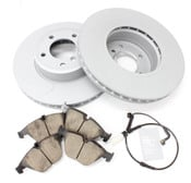 BMW Brake Kit - Zimmermann/Akebono 34116864906KTF1