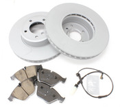 BMW Brake Kit - Zimmermann/Akebono 34116864905KTF1