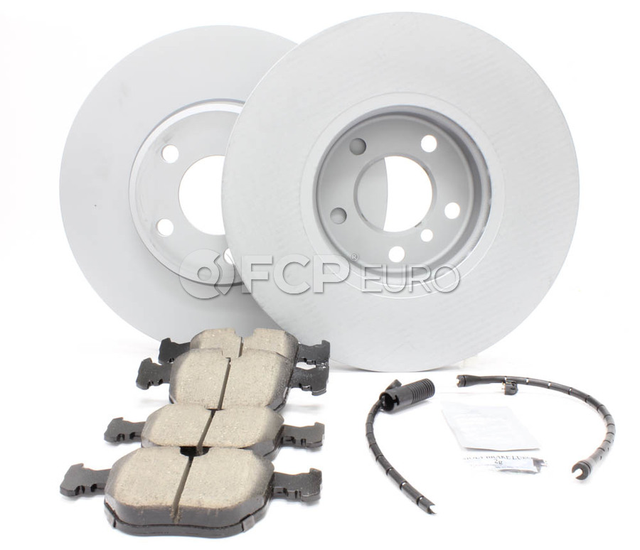 BMW Brake Kit - Zimmermann/Akebono 34116794300KT2