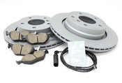 BMW Brake Kit - Zimmermann/Akebono 34216778168KT3