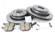 BMW Brake Kit - Zimmermann/Akebono 34216767060KT7