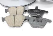 BMW Brake Kit - Zimmermann/Akebono 34116750267KTF1