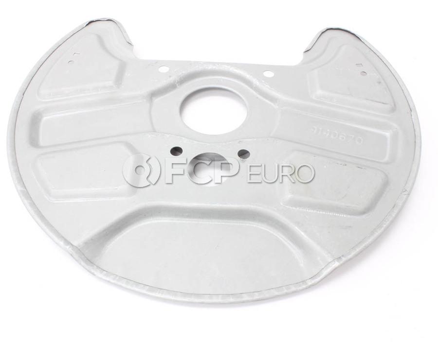 Volvo Brake Dust Shield - Genuine Volvo 9140670