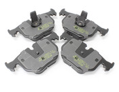 BMW HPS Brake Pad Set - Hawk HB518F.642