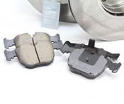 BMW Brake Kit - Zimmerman/Akebono 34116767059KT1