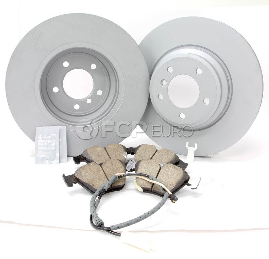 BMW Brake Kit - Zimmermann/Akebono 34116855000KTF13