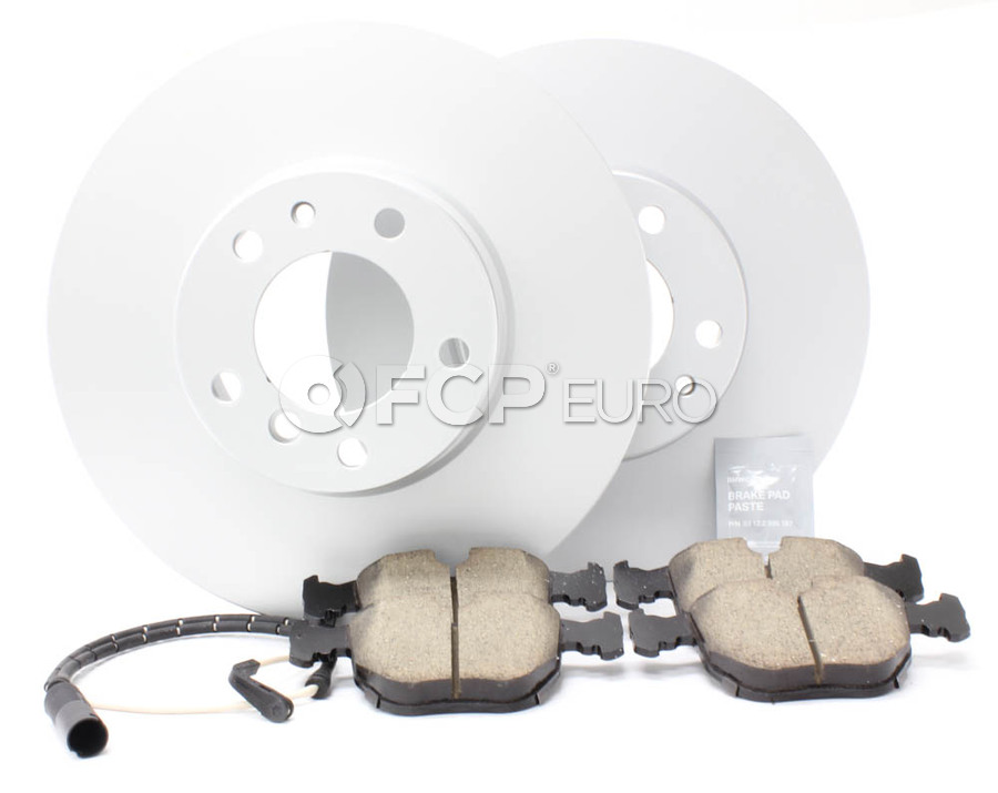 BMW Brake Kit - Zimmermann/Akebono 34116757747KT2
