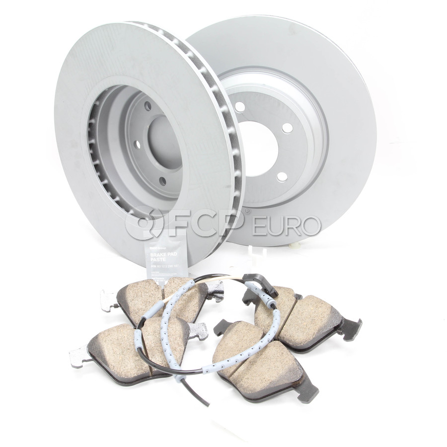 BMW Brake Kit - Zimmermann/Akebono 34116855000KTF10