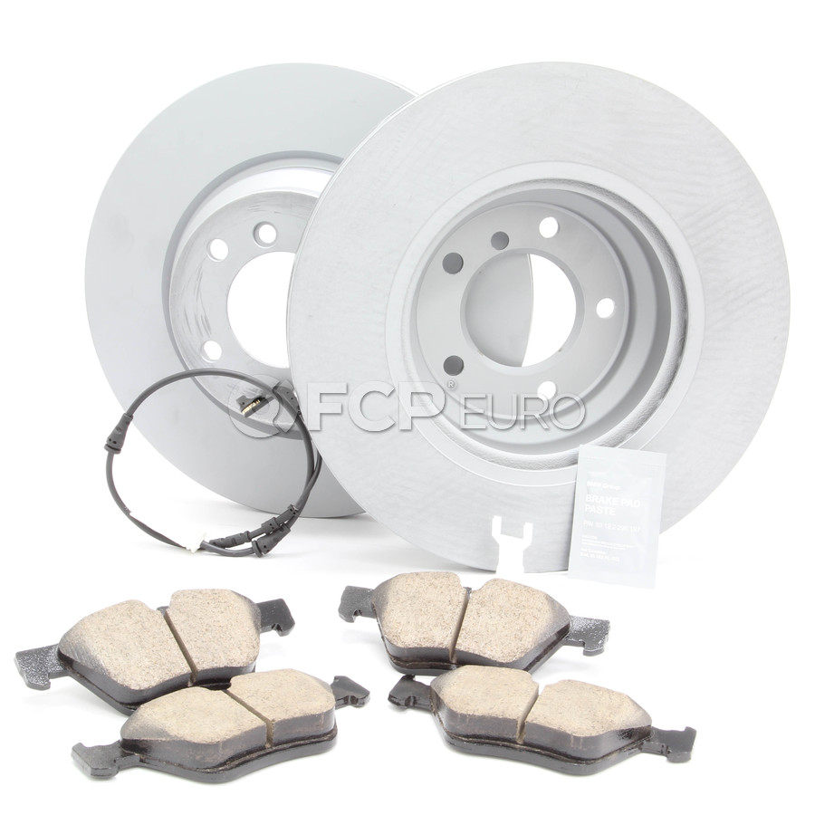 BMW Brake Kit - Zimmermann/Akebono 34116854999KT2