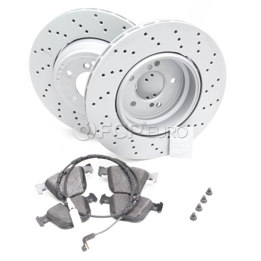 BMW Brake Kit - VNE/Textar 34212283803KT2