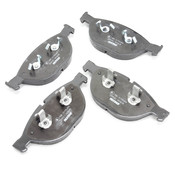 BMW Brake Kit - Zimmermann/Textar 34116766107KTF1