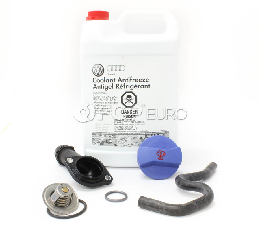 Audi VW Thermostat Housing Kit - Genuine VW Audi 06B121121L