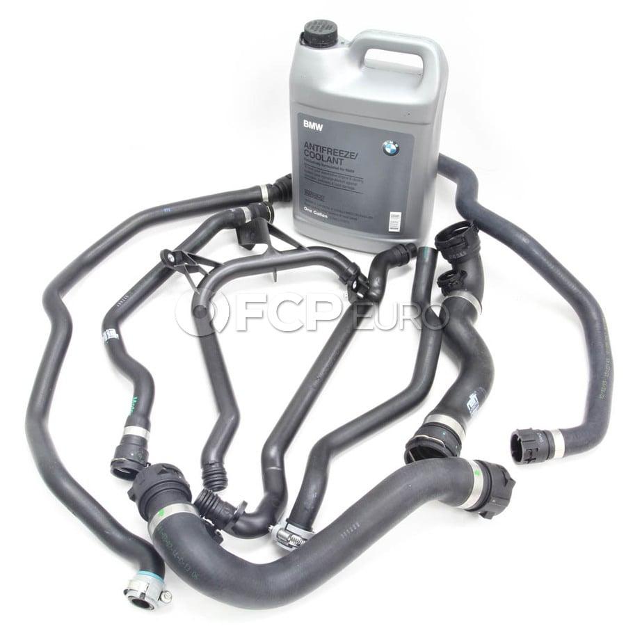 BMW Comprehensive Cooling System Hose Kit (E46) - 11531436408KIT | FCP EuroFCP Euro