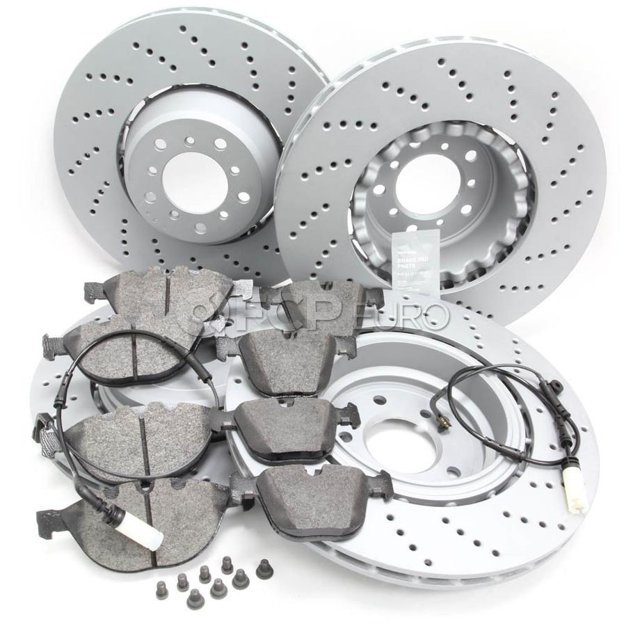 BMW Brake Kit - VNE/Textar 34112282805KTFR2