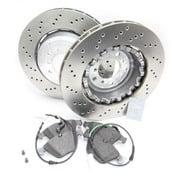 BMW Brake Kit - Zimmermann/Textar 34112283801KTF