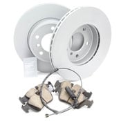 BMW Brake Kit - Zimmermann/Akebono 34116855152KTF2