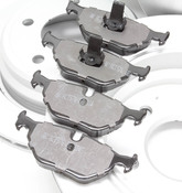 BMW Brake Kit - Zimmermann/Akeono 34116757747KTFR8