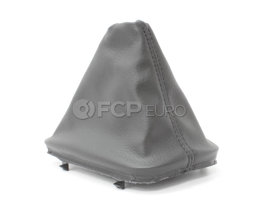 BMW Imitation Leather Gear Lever Cover (Black) (323Ci 323i 325Ci 325i) - Genuine BMW 25111434098