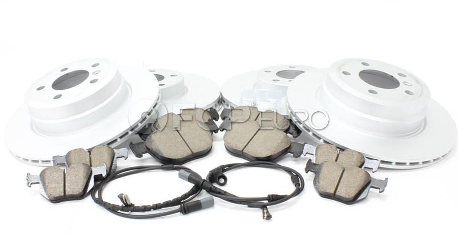 BMW Brake Kit - Zimmermann/Akebono 34116793245KTFR1