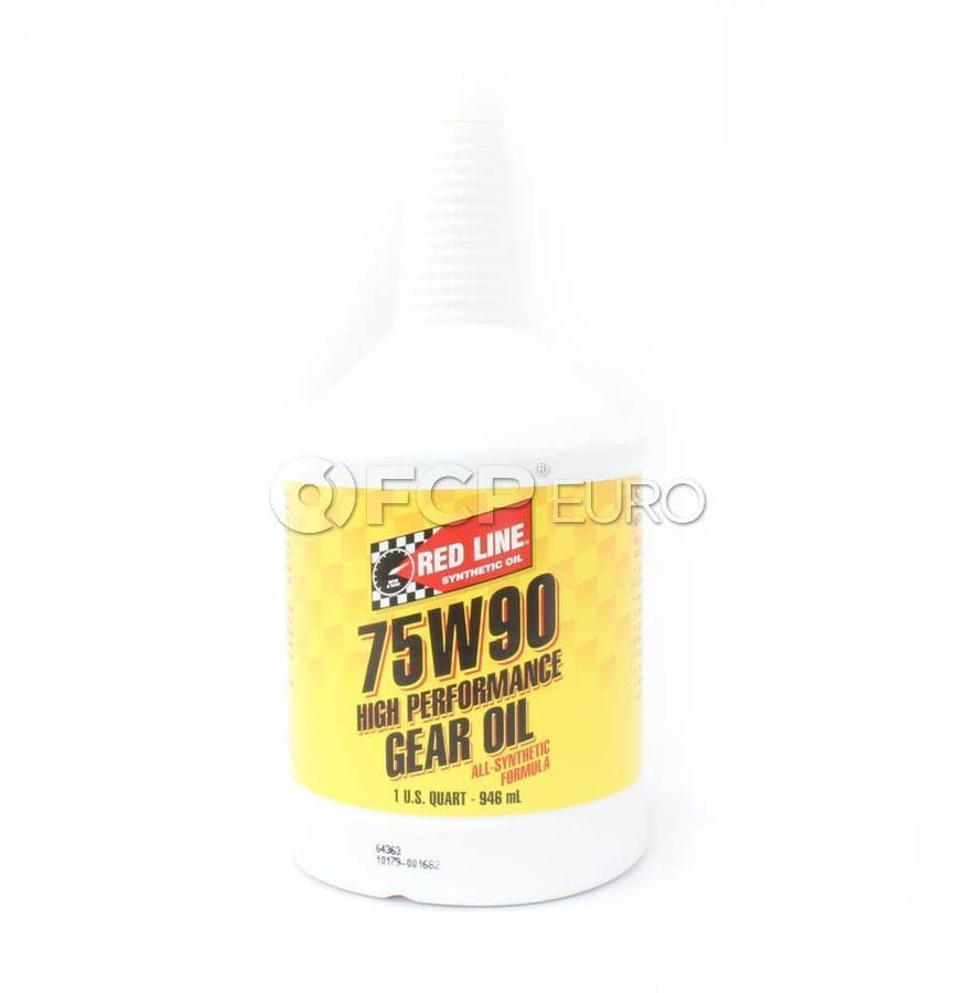 75W90 GL-5 Gear Oil - Red Line 57904