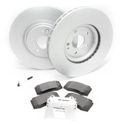 Mercedes Brake Kit - Zimmermann R129FBK1