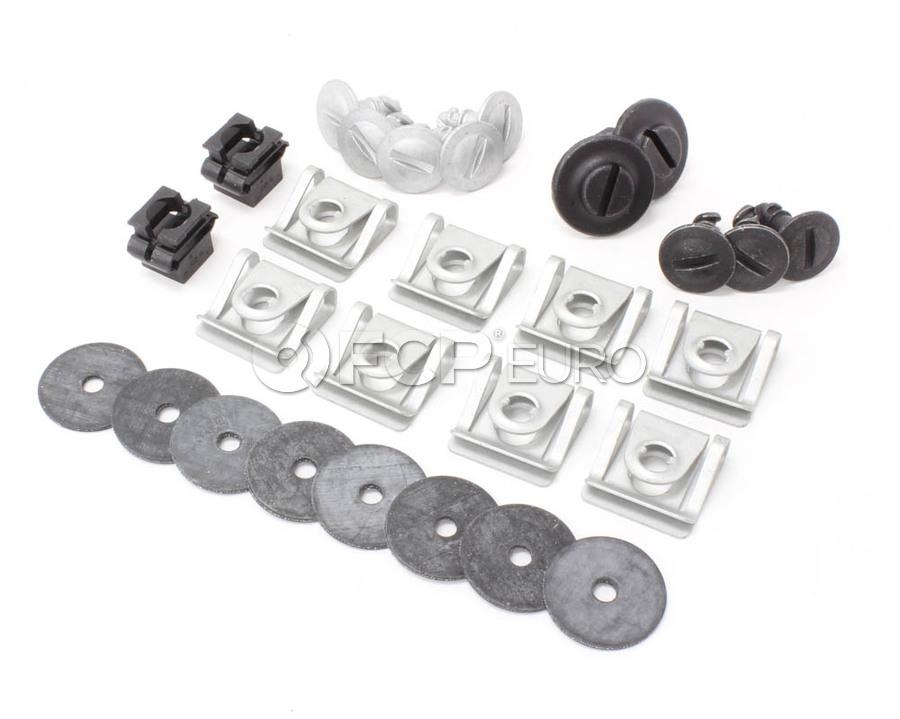 Audi B6 Engine Splash Guard Hardware Kit