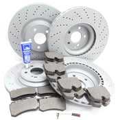 Mercedes Brake Kit Comprehensive - Zimmermann R230AMGFRBK1