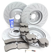 Mercedes Brake Kit - Zimmermann R230AMGFRBK1