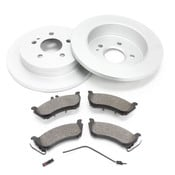 Mercedes Brake Kit - Zimmermann W163RBKLATE